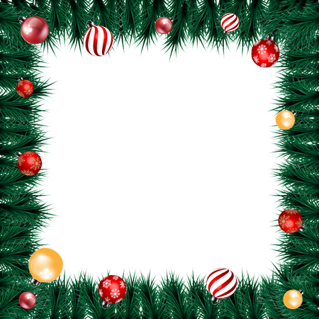 christmas background for decoration on white background Stockfoto - 119505239