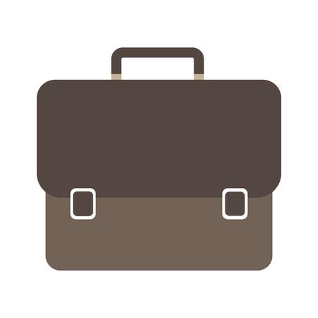 business bag icon for web design. vector illustration. Stock Illustratie