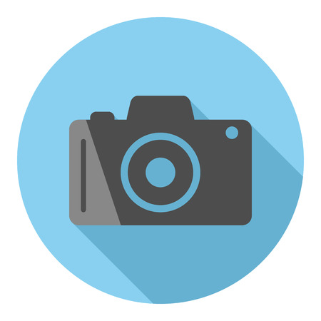 camera icon. vector illustration. Stockfoto - 120781973