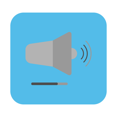 Speaker volume icon. vector illustration. Stockfoto - 120781975