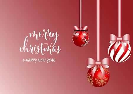 Christmas background for decoration, vector illustration