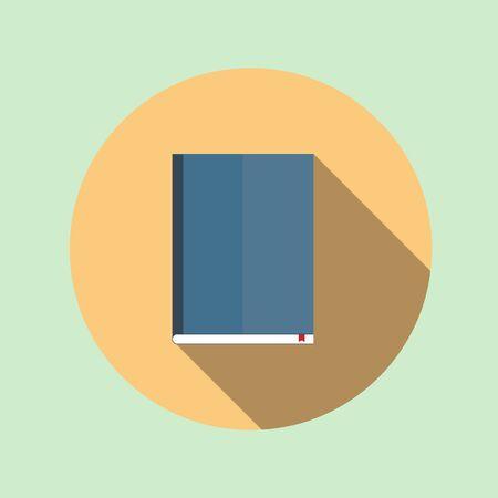 Book icon design - vector illustration. Stock Illustratie