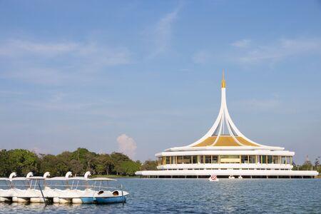 Suan Luang Rama IX, Recreation Public Park in Bangkok Thailand.