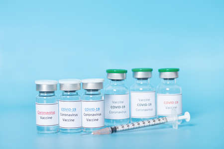 Coronavirus Vaccine, COVID-19 vaccine. Healthcare And Medical concept.