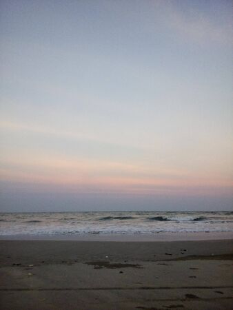 Horizon line during daylight fades 版權商用圖片