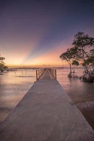 Wonderful panorama photo of Indonesia