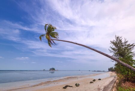 Landscape Photos Of Wonderful Panorama in Batam Bintan Indonesia 스톡 콘텐츠
