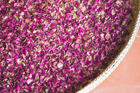 Dried flower in asian style