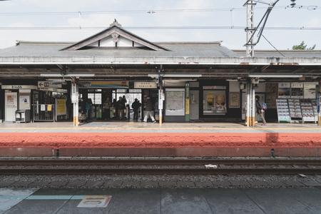 Tokyo, Japan-Nov-2017 : Old Train Station in Japan 스톡 콘텐츠 - 121304804