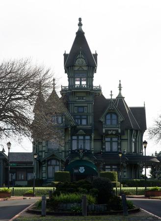 Le Carson Mansion Est Une Grande Maison Victorienne Situe Dans La