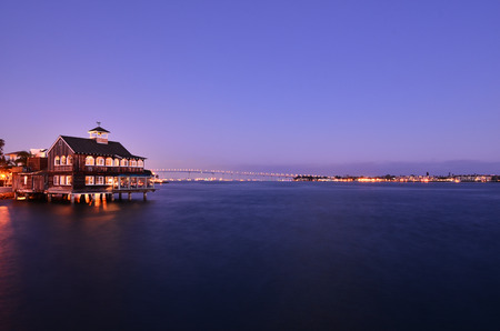 View from Seaport Village, San Diego
