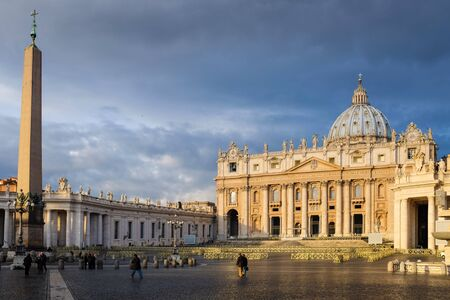 vatican: Vatican in early morning.