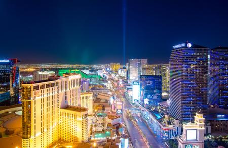 las vegas lights: Keep the world spin in Las Vegas Editorial