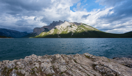 Minnewanka Lake in Banff National Park ,Canada