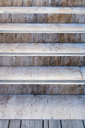 Stone steps background in marble texture