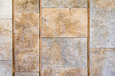 Rustic marble wall in block background Stok Fotoğraf