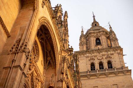 Toledo's Church closeup view in Spain. 版權商用圖片