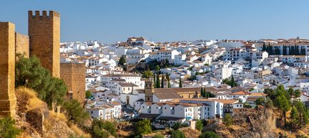 Travel sightseeing cityscape of Ronda, Ronda vacation in Spain.