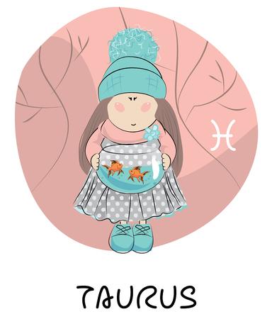 Taurus cartoon zodiac