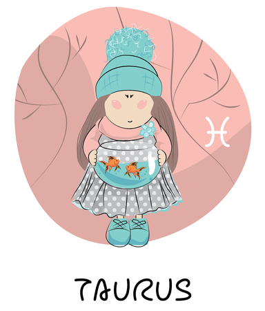 Taurus cartoon zodiac