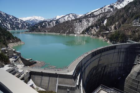 일본의 댐 산과 호수
