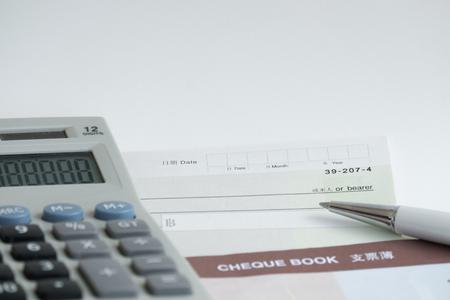 chequera: Talonario de cheques