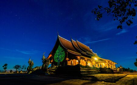 Sirindhorn Wararam Phu Prao Temple Wat Phu Prao famous temple in Thailand