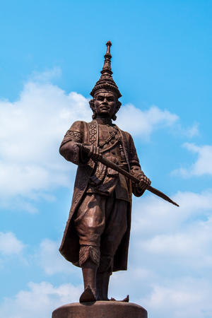 king ramkhamhaeng: Raja Bhakti park is new landmark and most popular in Hua Hin beach on  at Prachuap Khiri Khan Thailand.