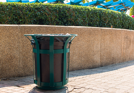 wheelie: wheelie bins for rubbish, recycling and waste,recycling and garden waste. old trash bin in thailand