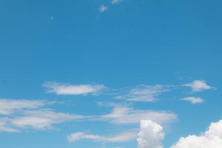 beautiful blue sky with cloud