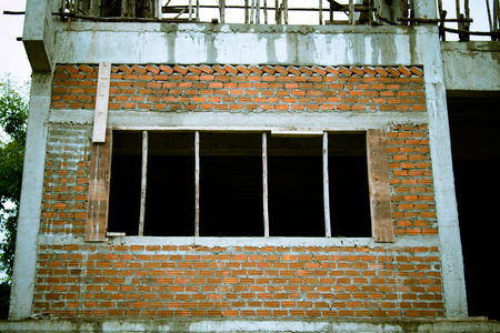 Building structure used in construction