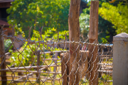 Wall steel mesh fence  weave