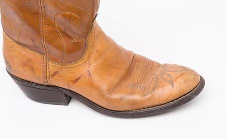 foot ware: Cowboy boots, head vintage