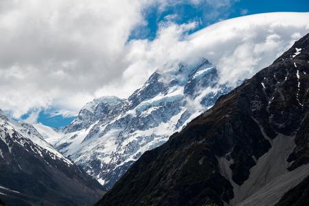 ice mountain: peak of ice mountain