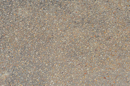 on aggregate: exposed aggregate finish texture