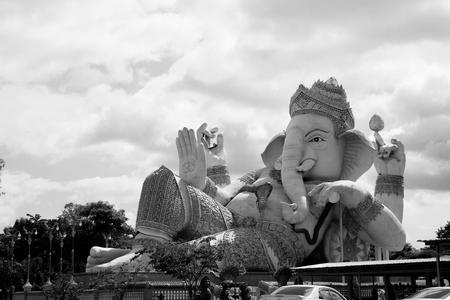 worshiped: elephant-headed deity