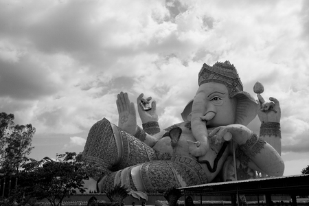 worshiped: elephant-headed deity