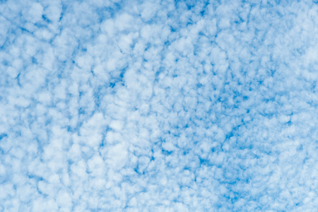 Abstract smooth soft white fantastic cloud on blue sky texture pattern  background