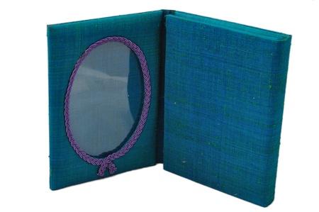 Silk photo frame photo