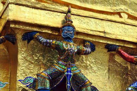 Emerald Buddha Temple , Thailand photo
