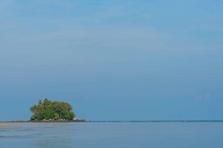 little green island near Nai yang beach Phuket , Thailand Stock fotó