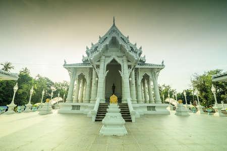 Wat kaew korawaram temple.Beautiful place located in Krabi, Thailand. Stock fotó