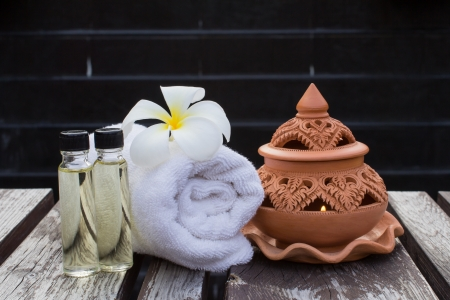 Thai spa aromatherapy photo