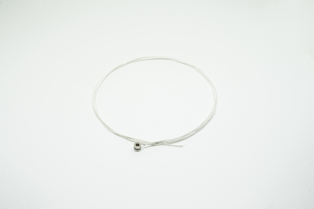 gstring: The guitar string on the white background. is new.