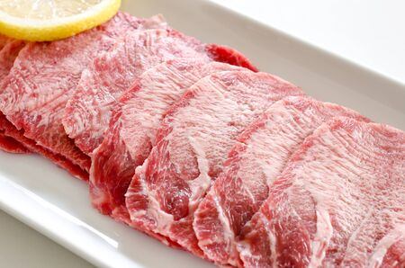 cow tongue: Beef tongue Stock Photo