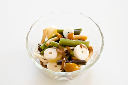 boiled: Boiled vegetables