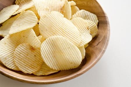 potato chips: Thick cut potato chips