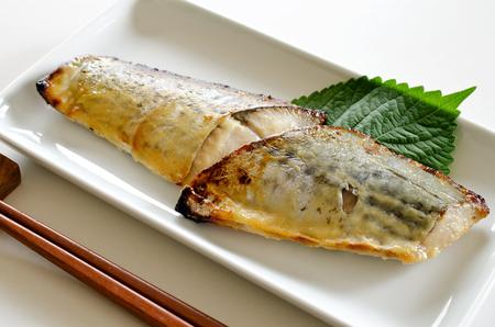 Grilled Spanish mackerel Zdjęcie Seryjne - 55348304