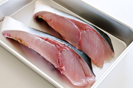Fillets of Yellowtail