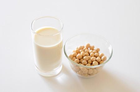 soja: La leche de soya y soya